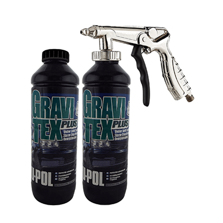 Picture of Coatings | Gravitex Black 1L | UPOL