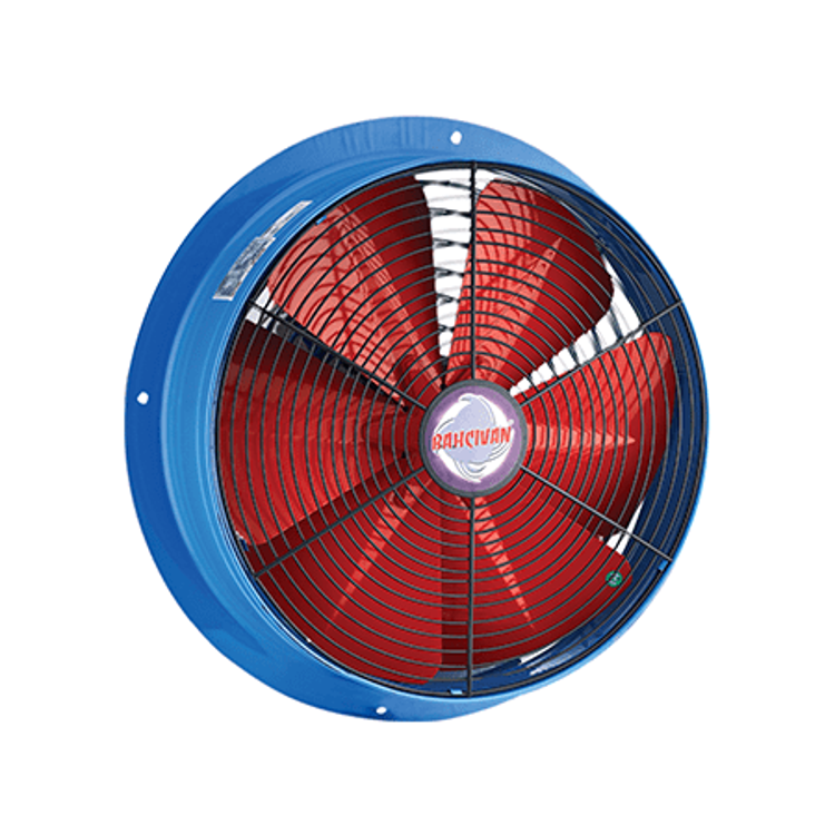 Exhaust Fan | Circle | Metallic Wall Mounted | 12 Inches
