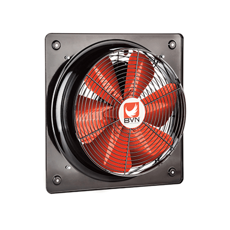 Exhaust Fan | Square | Metallic Wall Mounted | 10 Inches